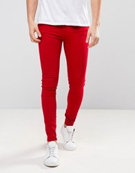 Dr. Denim Dr Lexy Jeans Vicious Red Red