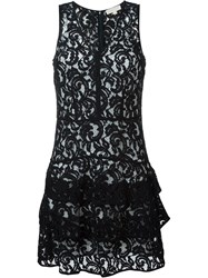 Michael Michael Kors Tiered Lace Dress Blue