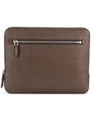 Salvatore Ferragamo Briefcase Brown