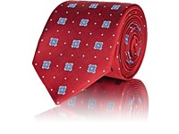 Sartorio Embroidered Silk Necktie