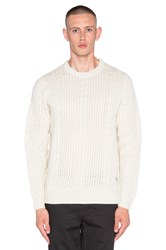 Bellfield Laugar Sweater Cream