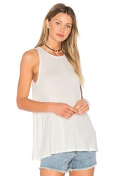 Rvca Label Tunic Tank White