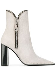 Alexander Wang Lane Ankle Boots Grey