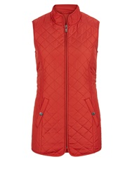 Dash Re Nylon Lightweight Gilet Red