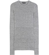 Tom Ford Cashmere Sweater Dress Grey
