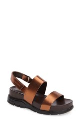 Cole Haan Women's 'Zerogrand' Sandal Copper Leather