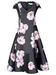 True Decadence Floral Prom Dress Lilac Multi