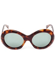 Oliver Goldsmith Audrey Sunglasses Green