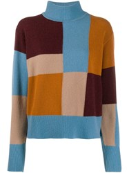 Equipment Colour Blocked Knitted Jumper 60
