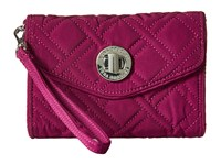 Vera Bradley Your Turn Smartphone Wristlet Plum Wristlet Handbags Purple