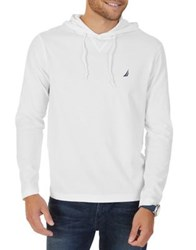 Nautica Classic Fit Cotton Pullover Hoodie Charcoal Heather