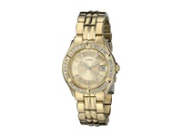 Guess U85110l1 Dazzling Sporty Mid Size Watch Champagne Gold Sport Watches Beige