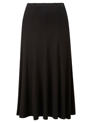 Viyella Jersey Skirt Black