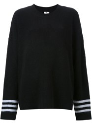 Unif Ribbed Sweater Black