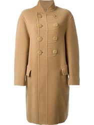 Jean Paul Gaultier Vintage Double Breasted Coat Nude And Neutrals