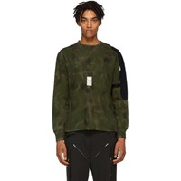 Alyx Green Camo Sling Long Sleeve T Shirt