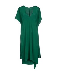 Issa Knee Length Dresses Emerald Green