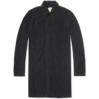Remi Relief Cotton Mac Black Indigo