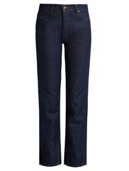 Bliss And Mischief Collector Fit High Rise Jeans Indigo