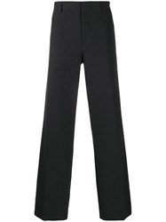 Lanvin Wide Leg Tailored Trousers Blue