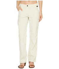 Jack Wolfskin Marrakech Roll Up Pants White Sand Women's Casual Pants