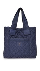 Marc Jacobs Nylon Knot Tote Midnight Blue