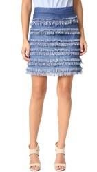 Ella Moss Alina Skirt Medium Wash