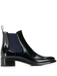 Church's Two Tone Chelsea Boots Black
