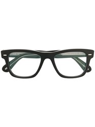 Oliver Peoples Square Frame Glasses Black