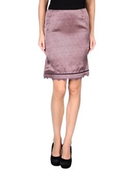 Ermanno Scervino Scervino Street Knee Length Skirts Grey