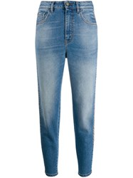 Just Cavalli Cropped Jeans Blue