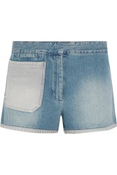 Acne Studios Sailor Denim Shorts Blue