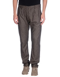 Macchia J Casual Pants Dark Brown