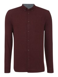 Linea Baxter Long Sleeve Flannel Shirt Mulberry