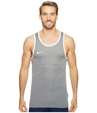 Nike Dry Basketball Tank Cool Grey Cool Grey White White Men's Sleeveless Gray
