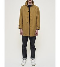 Community Clothing Waterproof Cotton Raincoat Khaki