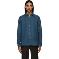 Paul Smith Ps By Blue Tailored Shirt