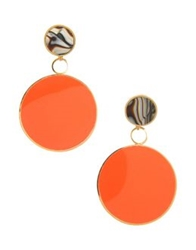 Vickisarge Earrings Orange