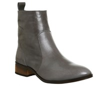 Office Ashleigh Flat Ankle Boots Grey