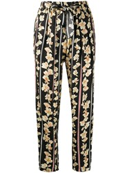 Forte Forte Floral Print Straight Trousers 60