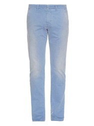 Tomas Maier Slim Leg Weathered Cotton Trousers
