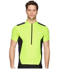 Pearl Izumi Quest Jersey Screaming Yellow Black Clothing