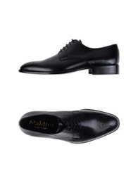 Maldini Lace Up Shoes Black