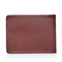 Il Bussetto Bi Fold Wallet Bordeaux