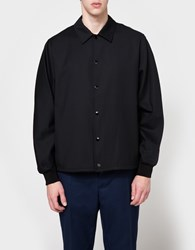 3.1 Phillip Lim Coach Jacket Lightweight Wool Black