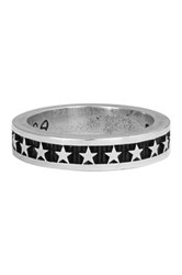 King Baby Studio Sterling Silver Stackable Star Ring Metallic