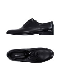 Alessandro Dell'acqua Footwear Lace Up Shoes Men Black