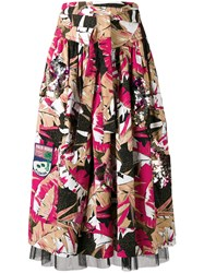 Marc Jacobs Palm Belted Skirt