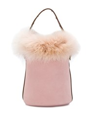 Mr And Mrs Italy Small Bucket Bag Pink