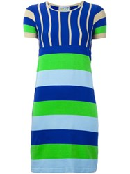 Walter Van Beirendonck Vintage Striped Knit Dress Multicolour
